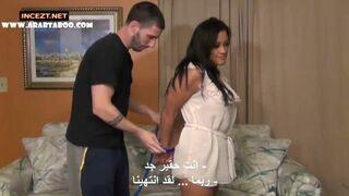 مترجم عربي: الولد يغتصب امه بعد ما مسك عليها صور سكس