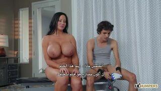 افلام سكس جديده - مصارعة النيك مع زوجة الاب المربربة