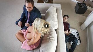 سكس مترجم - جوردي فتى توصيل الصحف يتجسس على الزوجة الخائنة الشرموطة المهملة جنسياً وتتناك منه xnxx 2020 jordi