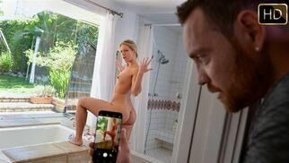 إدمان مشاهدة طيز أختي الكبيرة فى الحمام  نيك محارم